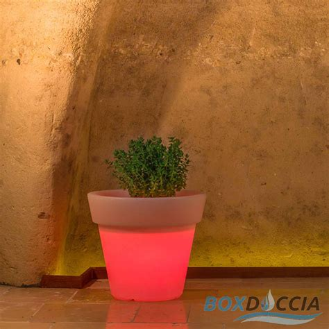 vaso alto resina vaso resina alto begonia tondo giardino vasi made in italy