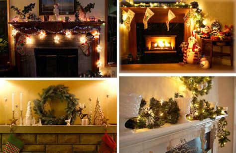 fireplace decorations 33 mantel christmas decorations ideas digsdigs