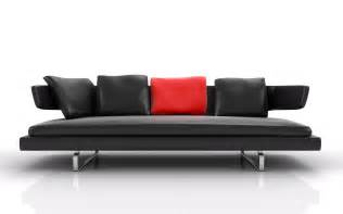 Leather Modern Sofas Modern Leather Sofa Interior Design Ideas