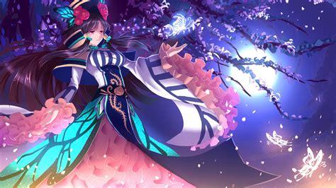 wallpaper anime 4k girl digital art anime 4k anime desktop hd wallpaper