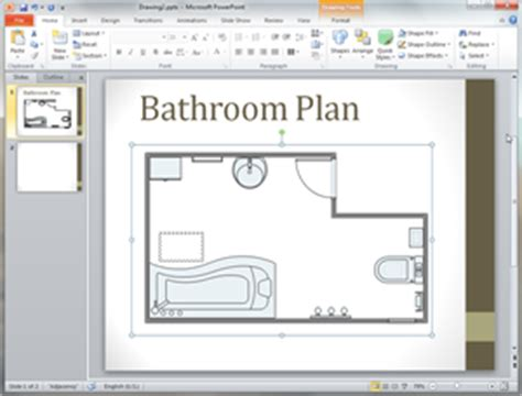 bathroom plan templates  word powerpoint