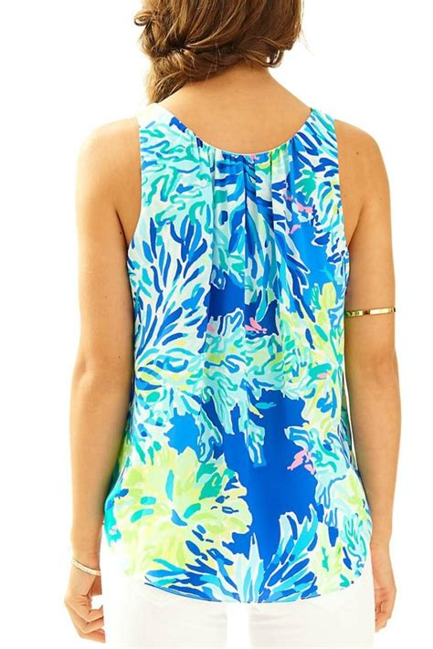 Florie Top lilly pulitzer florie top from connecticut by seasonal