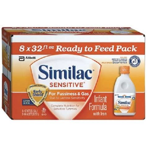similac total comfort ready to feed similac advance newborn formula bottles ready to feed 8