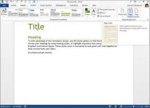 Ms Word Templates 2013 by Microsoft Word 2013 Slide 2 Slideshow From Pcmag