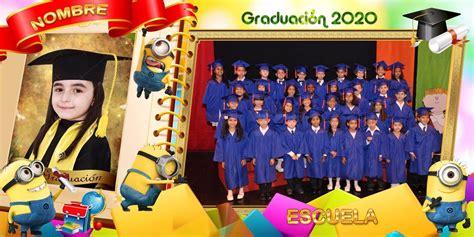plantillas psd graduacion diplomas fotos grupales marcos 20 plantillas grupales escolares 8x16 psd editables 300ppp