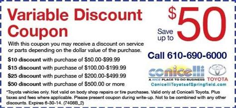 toyota coupons for change toyota change coupons hattiesburg ms