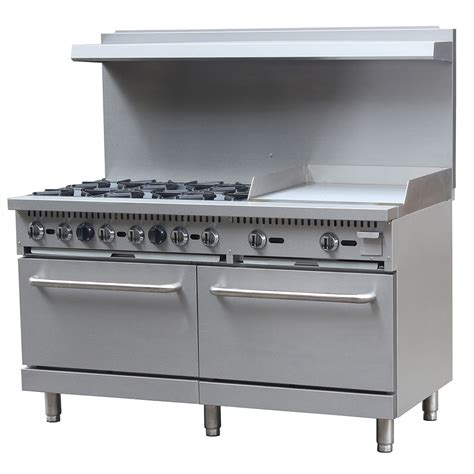 Oven Gas Golden Standard equipped 60 cpgb 6b 24g s26 60 quot 6 burner gas range w standard oven ng