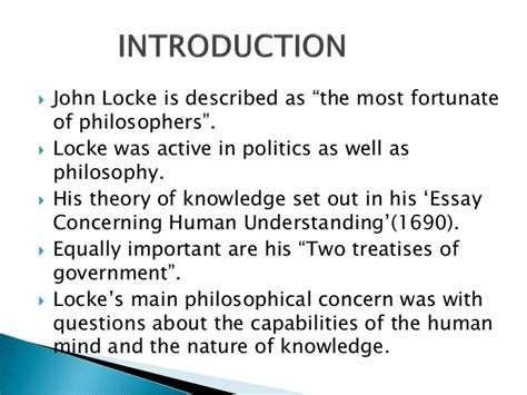 An Essay Concerning Human Understanding Summary by Locke An Essay On Human Understanding Analysis Writefiction581 Web Fc2