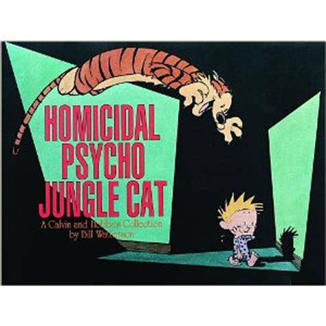 homicidal psycho jungle cat a calvin and hobbes collection religion is the opiate of the masses calvin and hobbes