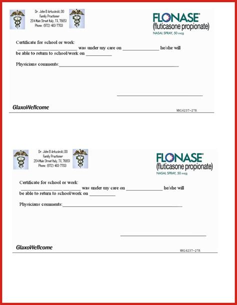 dentist note for school template real doctors excuse resume format