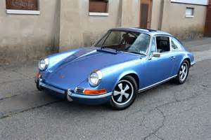 1972 Porsche 911t 1972 Porsche 911t In Gemini Blue Metallic Ridge