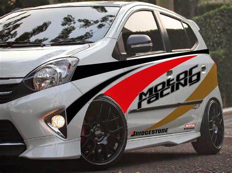 Jual Polet Mobil by Gambar Stiker Mobil Sedan Terbaru Dan Terkeren