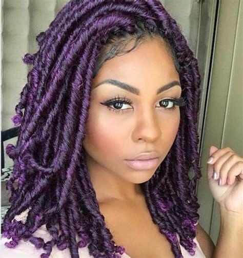 purple hairstyles for black women purple hair on black women www pixshark com images