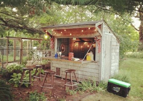 Building A Bar In A Shed by 13 Shed Transformations That Ll Make Your Neighbors Jealous