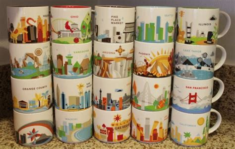 starbucks you are here collection starbucks you are here collection mug illinois it has grown on me