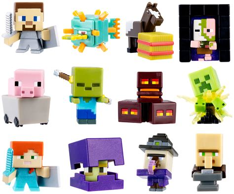 Did You See On Glosscomfree Shipping 4 Mini B 3 by Minecraft Mini Figures Assortment Pack Is 1 Minecraft Mini