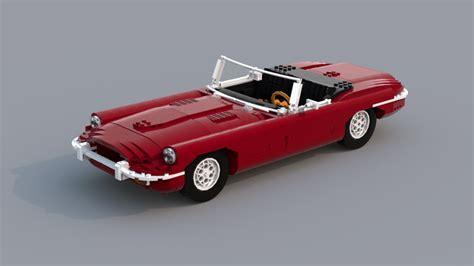 Mainan Mobil Cars 3 mobil mainan jaguar e type klasik dibuat dari 1 664 bata lego okezone news