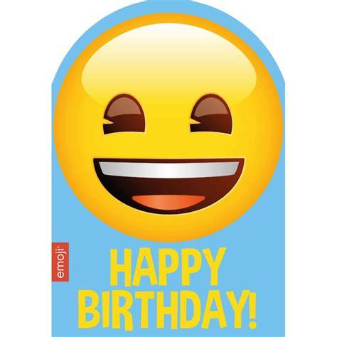 emoji birthday smiley happy birthday emoji birthday card 241600