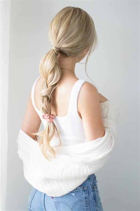 easy   school hairstyles  hair tutorial
