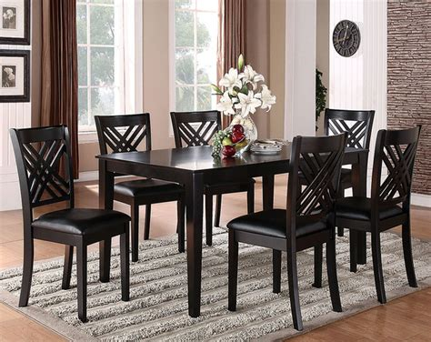 black 7 dinette set traditional dining