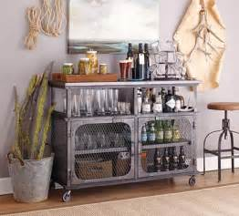 Industrial Style Bar Cabinet Metal Bexley Bar World Market Bar And Loft Style