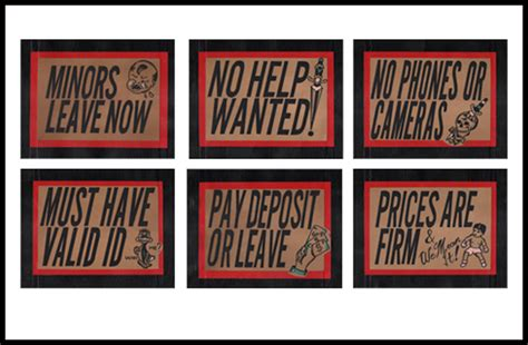 tattoo shop signs flash flash bicknee supply