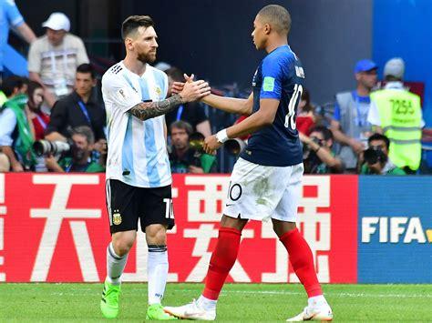 kylian mbappe on messi kylian mbappe france star confirms he s world class vs