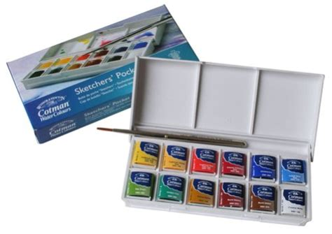harga sketchbook winsor newton review winsor newton cotman watercolors sketchers box