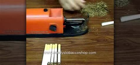 How To Make A Paper Cigarette That You Can Smoke - how to make a cigarette using the roll n smoke electric