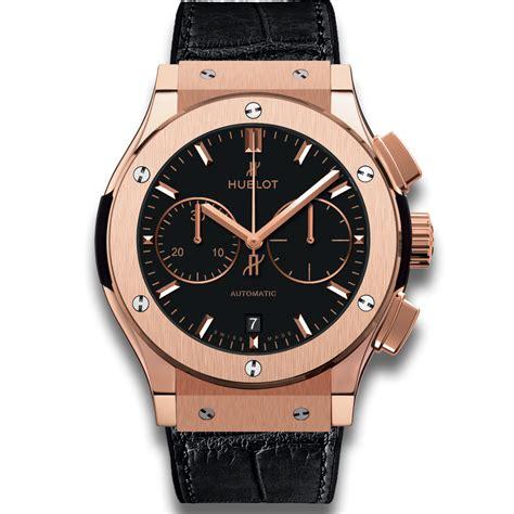 Hublot Big Gold Black hublot chronograph king gold classic fusion watches