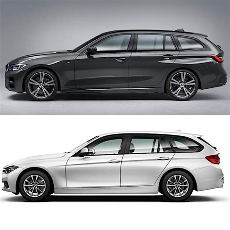 2019 Vs 2020 Bmw 3 Series by Photo Comparison 2020 Bmw 3 Series Touring Vs 2016 Bmw 3