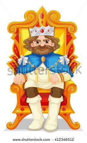 King Chair Clipart