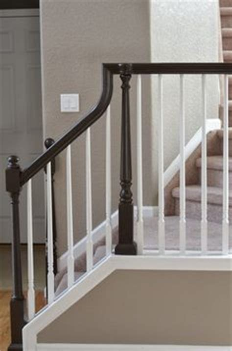 painting wood banister 1000 images about stair banister on pinterest stair