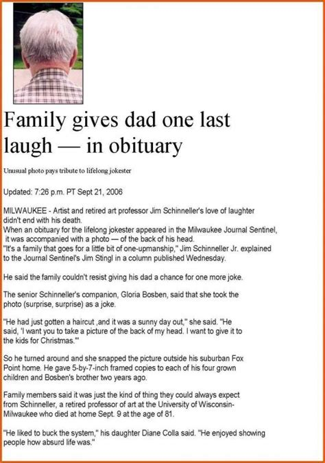 Obituary Series