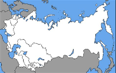 nations of the former ussr map quiz a blank map thread page 7 alternate history discussion