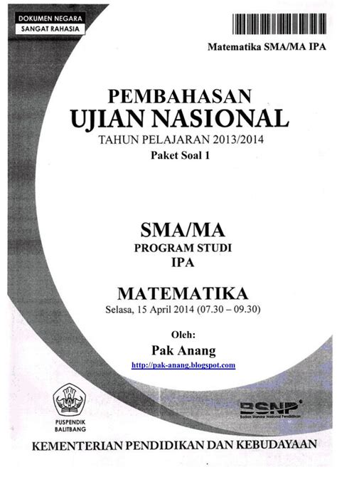 free download kumpulan soal ujian nasional sd minimother blog