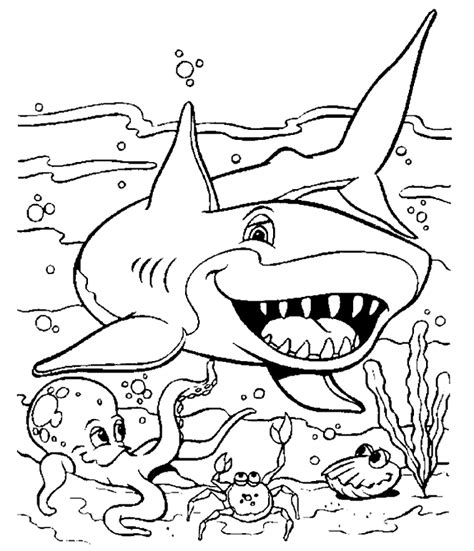 shark coloring pages 19 coloring kids