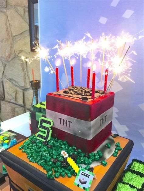 kids minecraft party ideas pretty  party