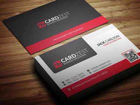 50 Magnificent Free Business Cards Design Templates Business Calling Card Template Free
