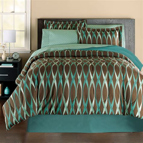 Walmart Bed Sheets Set Mainstays Wavy Bag Bedding Set Walmart