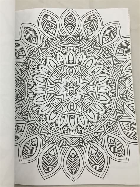 mandala coloring book therapy therapy coloring book mandalas and more