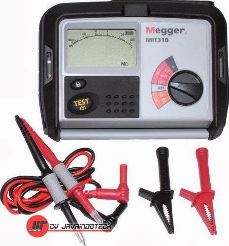 harga jual megger mit310 250 500 1000 v insulation and