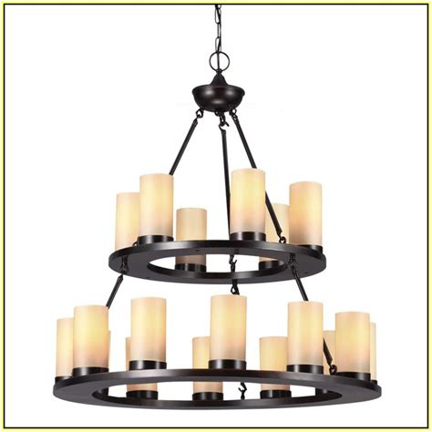 Home Depot Candle Chandelier Pillar Candle Chandelier Home Design Ideas