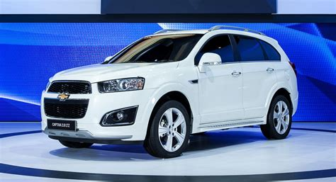 chevrolet captiva 2014 2014 chevrolet captiva makes its debut in