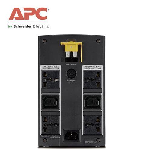 Ups Apc Bx 1100 apc bx1100li ms back ups 1100va 230v avr universal iec sockets