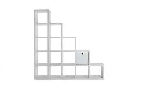 kartell modular bookshelf surrounding