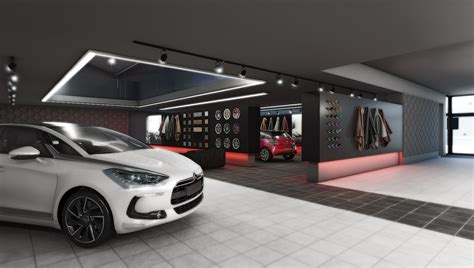 Exciting House Plans New Car Showroom Project