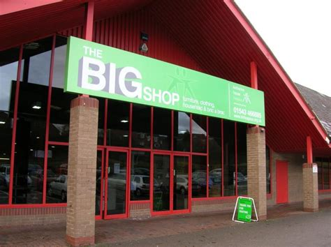 bid shopping cannock big shop charity shops in staffordshire