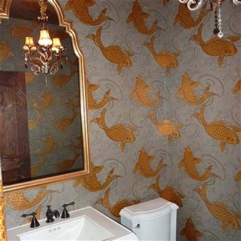 Bathroom Wallpaper Fish by Koi Fish Wallpaper Osborne And Beautiful Baths