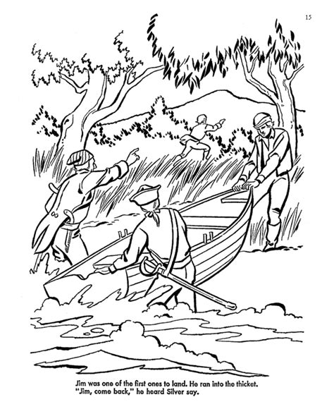 coloring pages treasure island coloring page of an island coloring home